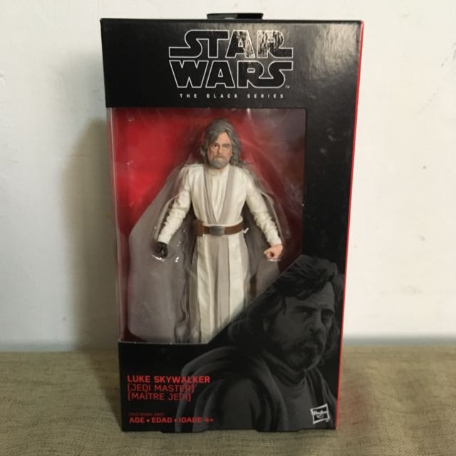 Star Wars Black Series Luke Skywalker Jedi Master 3.75 inch MIB