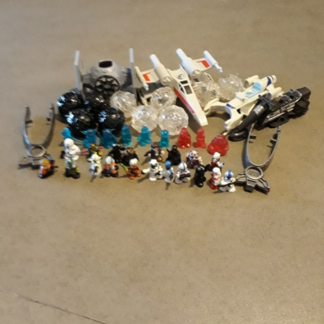 Star wars Fighter Pods, Toys & Games, Bricks & Figurines on Carousell