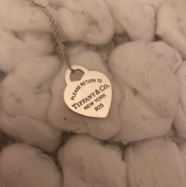 Tiffany and co small pendent