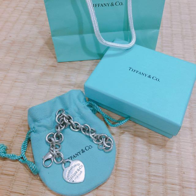 Tiffany&Co經典愛心手鍊