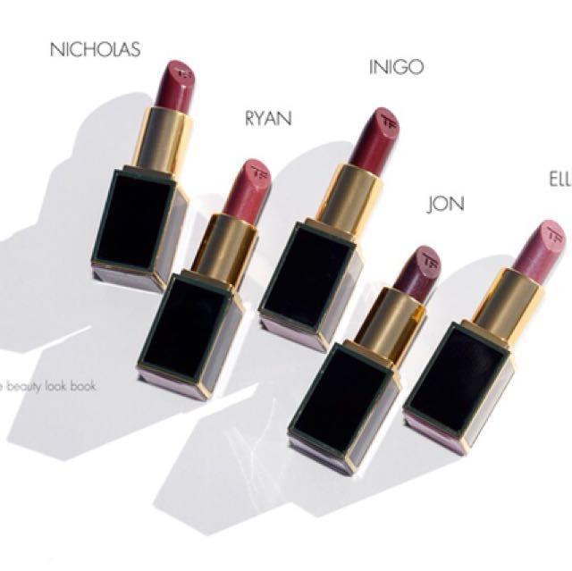 Tom Ford lips & boys mini size 💋💋💋 色號 #Nicholas
