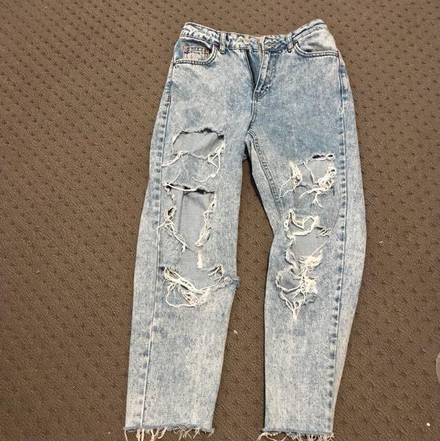Top shop high waisted Mum jeans