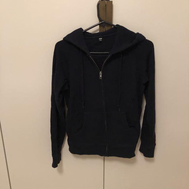 Uniqlo basic cotton hoodie