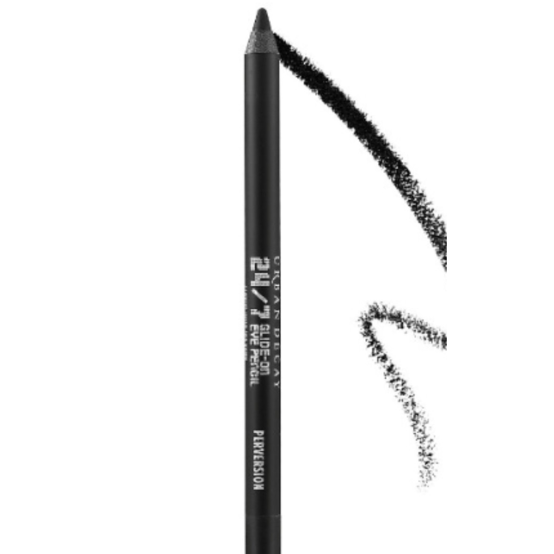 urban decay 24/7 glide on eye pencil in junkie and perversion.
