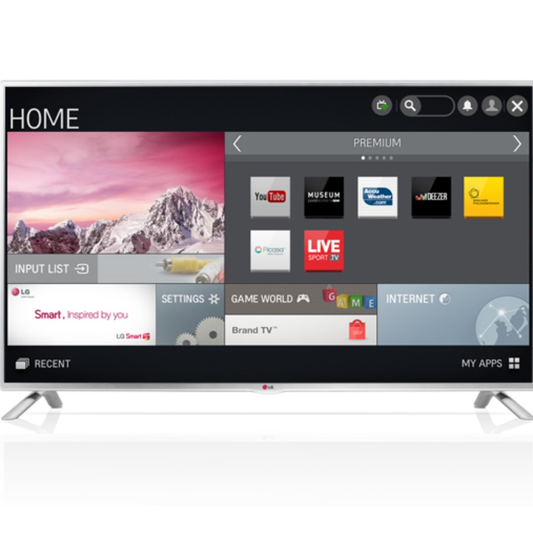 514a042a936 Used LG 47 inch Full-HD Smart TV with WIFI to connect to Toggle and  YouTube., Home Appliances, TVs & Entertainment Systems on Carousell