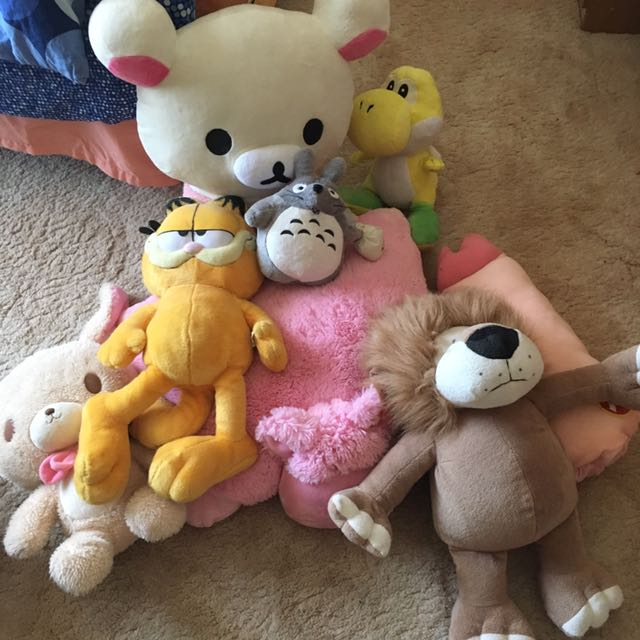 Various Stuffed Toys/Plushies
