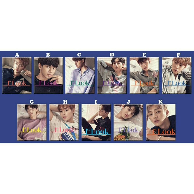 Wanna One KPop Photo Poster Ref Magnet Collectible