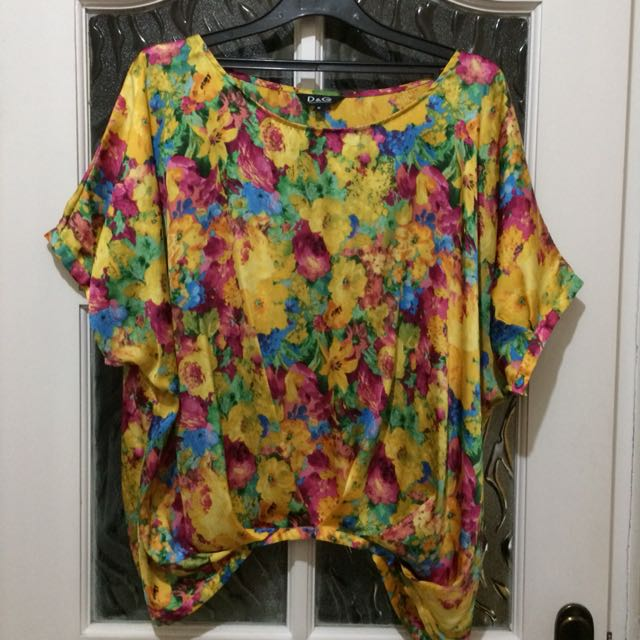 Yellow flowery Shirt