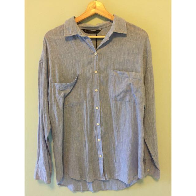 Zara Oversize Shirt