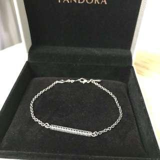 Pandora簡約風幼身純銀手鏈