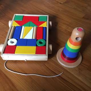 Blessing: IKEA wooden toys