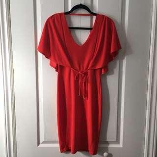 Red Dress Sz S