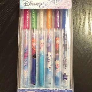 FROZEN 6 colour pens