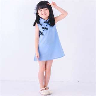 Qipao/ cheongsam for 1m - 4years old Chinese New Year traditional clothing cny dress children kids baby toddler child