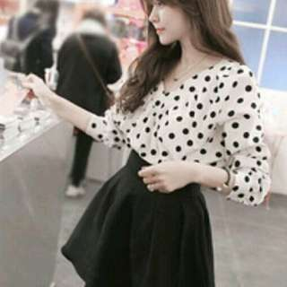 🚚 韓製傘狀可愛氣質短裙
