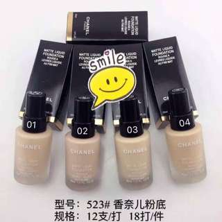Chanel Matte Foundation