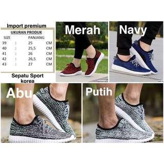 SEPATU YEEZY Import Sneakers Sport