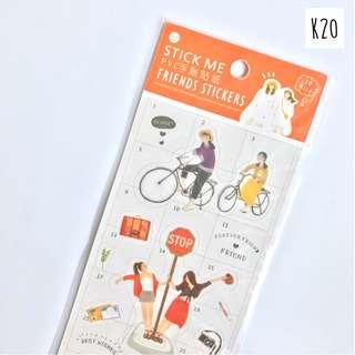 Sticker Set StickMe Series (K20 - Holiday)