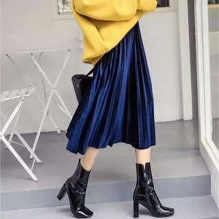Diamond Velvet Skirt