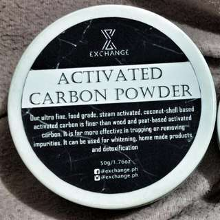 Activated Carbon Powder (50g) & Aztec Clay