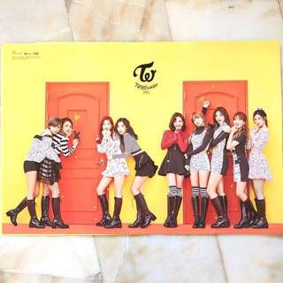 [Ready Stocks] TWICE - Official Poster from Korea