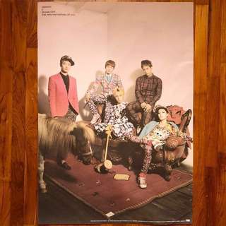 [Ready Stocks] Shinee-Official Poster