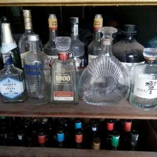 Botol whisky vintage