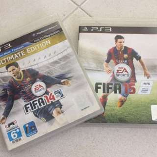 PS3 FIFA 14&15