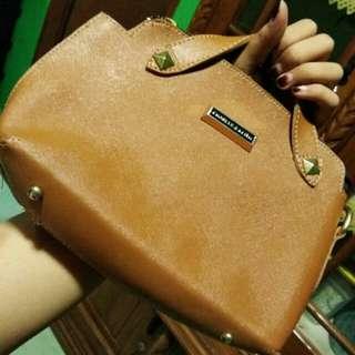 Handbag CK brown