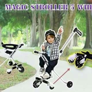 Magic Stroller 5 Wheels