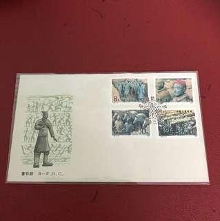 China stamp 1983 T88 B-FDC