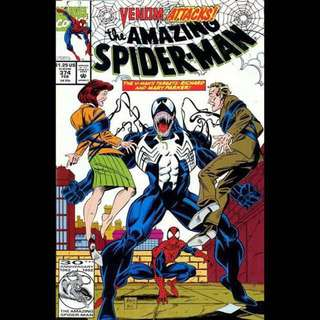 the AMAZING SPIDER-MAN #374 (1993)