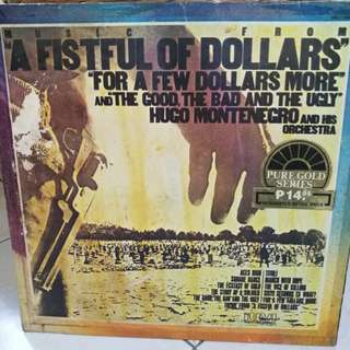 HUGO MONTENEGRO AND HIS ORCHESTRA A FISTFUL OF DOLLARS VG