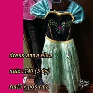 Dress Elsa & Anna