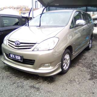 Toyota Innova 2.0 Full Loan