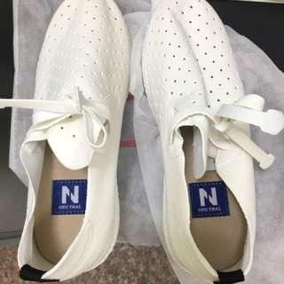 FM時尚女鞋 白布鞋