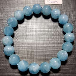 水晶 crystal 海藍寶10mm