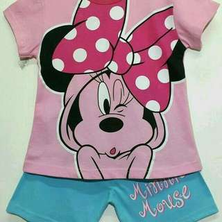Set. Minnie Mouse