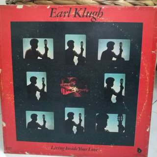 EARL KLUGH LIVING INSIDE YOUR LOVE NM