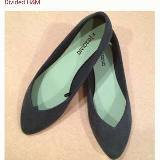 Divided by H&M HnM Ballet Flats Black
