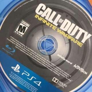 PS4 CONTROLLER PLUS INFINITE WAR FARE