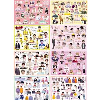 Preorder Wannaone Sticker Set