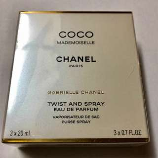 Chanel Coco Mademoiselle EDP Twist and Spray