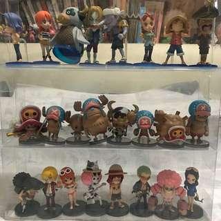 Wcf op 海賊王 one piece figure 公仔 日版
