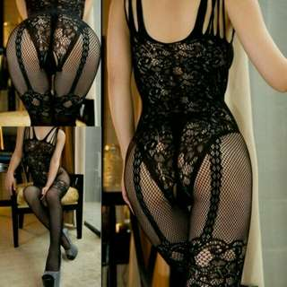 Lingerie hot bodystocking butt sexy