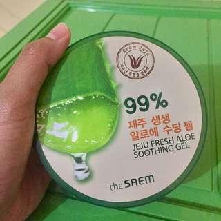 The Saem Aloe Vera Gel (share in jar)