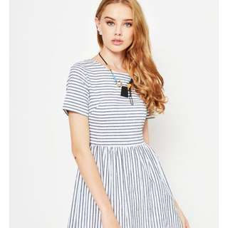 Love & Bravery Striped Dress