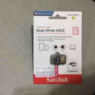 全新SanDisk dual drive m3.0