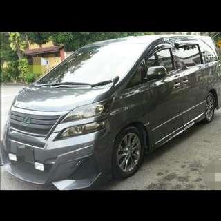 Toyota Vellfire 2.4 (A) Sambung Bayar / Car Continue Loan