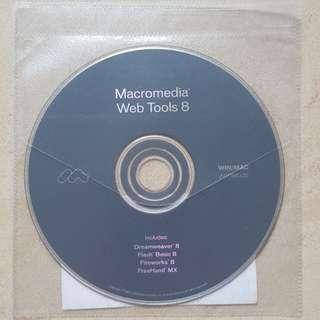 Macromedia Web Tools 8